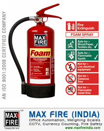 Foam Fire Extinguishers (AFFF)
